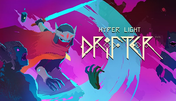 hyper light drifter title screen